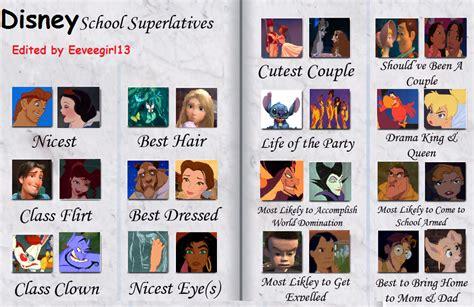 Disney Yearbook by Eeveegirl13 on DeviantArt