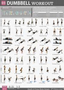at home dumbbell workout 1000 ideas about dumbbell exercises for on