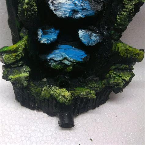 jual miniatur air terjun mini aquarium aquascape  lapak