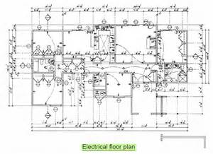 Electrical Floor Plans Arc261 Construction Drawing