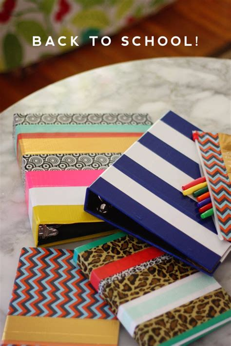 diy school supplies for 32 diy ideas for back to school supplies diy projects for