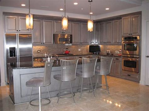 Metallic Kitchen Cabinets Decorative Paint Projects To Inspire Modern Masters Cafe