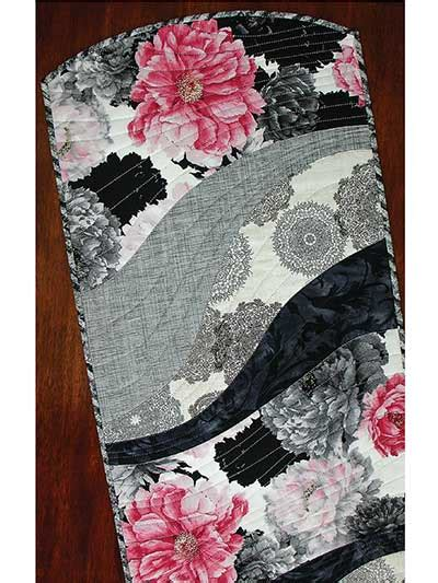 pattern for quilt as you go table runner ez breezy quilt as you go table runner place mat pattern