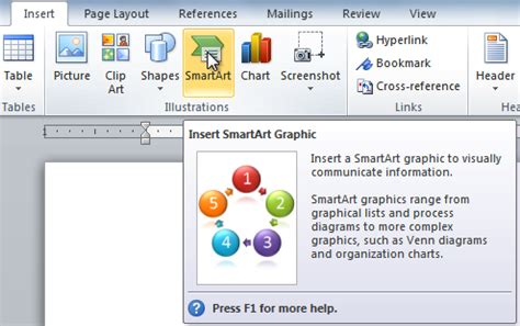 smartart templates for word word 2010 smartart graphics page 2
