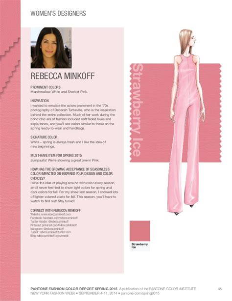 fashion colors for 2015 pantone fashion color palette 2015