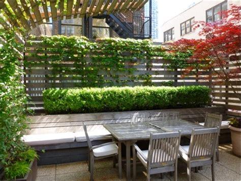 Balkon Sichtschutz Pflanzen by Balkon Sichtschutz Mit Vertikalem Garten G 252 Nstig Effektiv