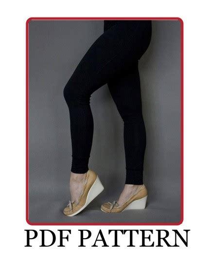 leggings sewing pattern pdf basic leggings pdf pattern sewing projects burdastyle com