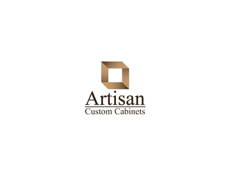kitchen cabinet logo creative logo design for artisan custom cabinets
