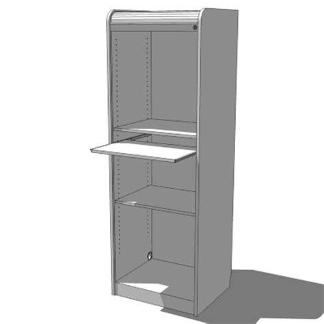 Computer Cupboards Ikea ikea aspvik roll front computer cabinet 3d model formfonts 3d models textures