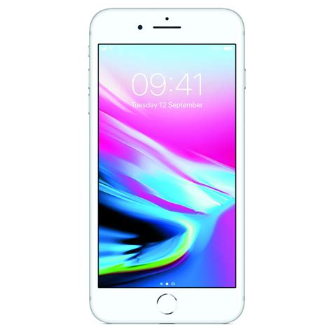 telefon mobil apple iphone 8 plus 256gb 4g silver emag ro