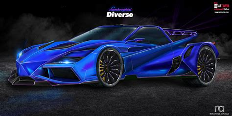 lamborghini diverso concept car tavern future mega car