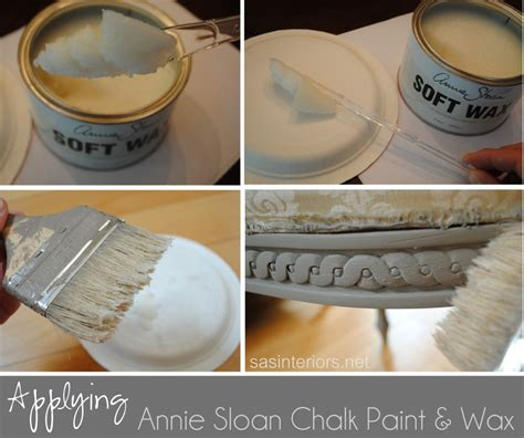 diy chalk paint wax finish my sloan experience burger
