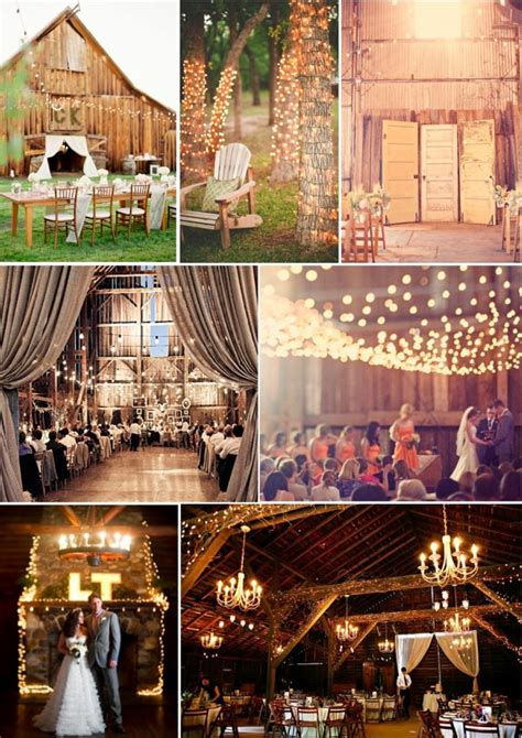 Rustic Lighting Ideas by Memorable Wedding Rustic Wedding Decorations