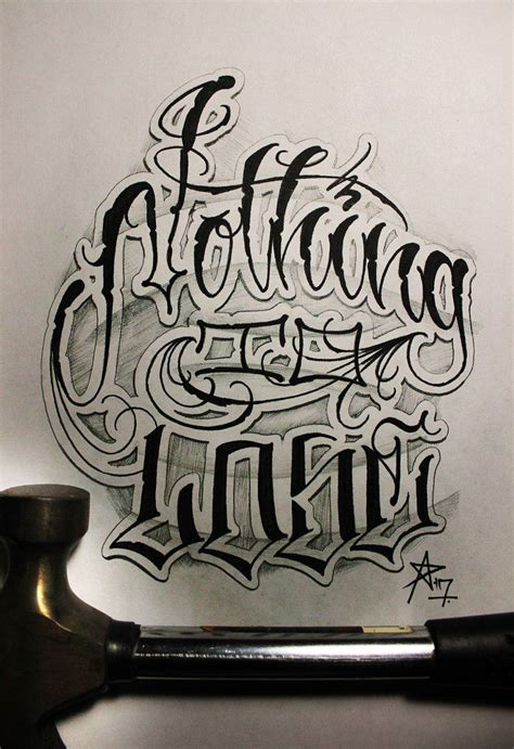 tattoo fonts chicano criminal lettering fontes lettering