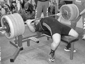 bottom position bench press max legal bench pr no shoulder pain pr elite fts