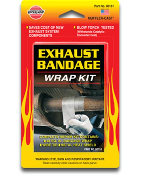 Exhaust System Repair Wrap Exhaust Repair