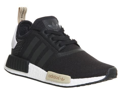 mens adidas nmd runner black purple trainers shoes ebay