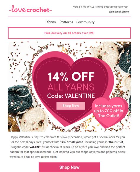 valentines email 5 things i learnt from valentine s day email marketing