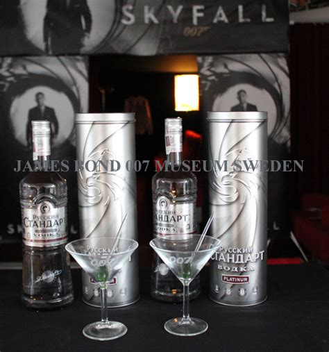 james bond martini dry martini skyfall russian standard vodka platinum james