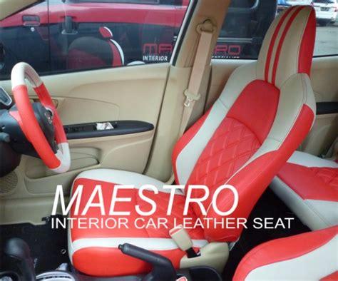 Karpet Mobil Agya Karakter modifikasi interior honda mobilio kombinasi dua warna