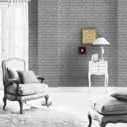 Bedroom Wall Stickers For Girls gris ladrillo efecto papel pintado rasch 226720 nuevo