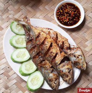 ikan kembung goreng bumbu lezat  garing resep resepkoki