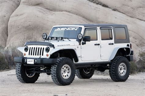 Jeep Fenders Xenon Flat Fender Style Flare Kit For 07 15 Jeep 174 Jk