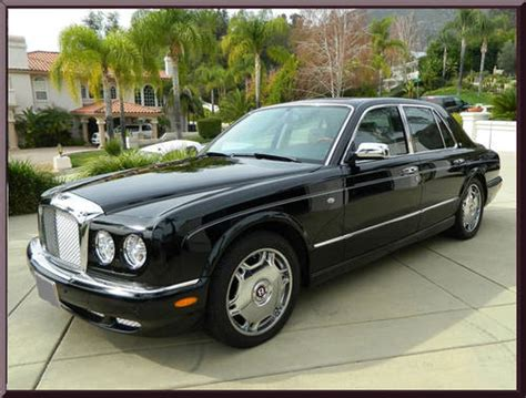 2009 bentley arnage 2009 bentley arnage r sedan mint black only 9k
