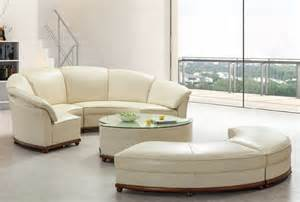 moderne royale designs grand rond canap 233 salon en cuir