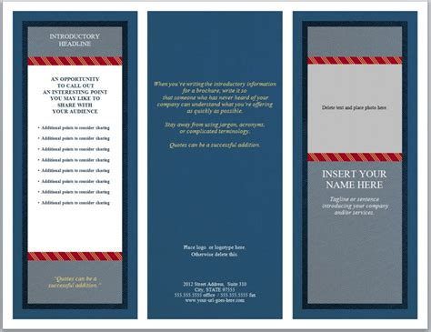 firm templates brochure template firm brochure template