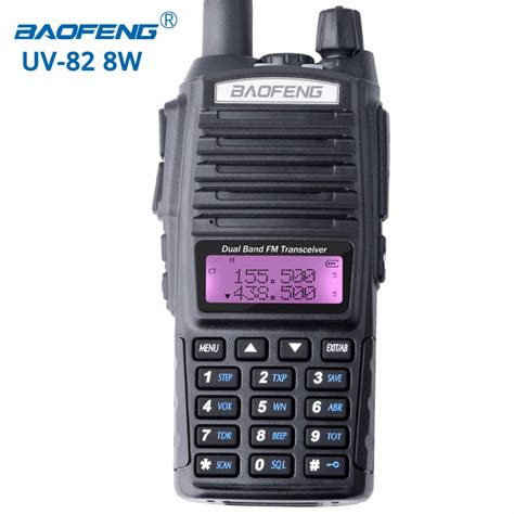Terlaris Walkie Talkie Baofeng Dual Band 8w 128ch Uhfvhf Bf Uvb2 Pl baofeng uv 82 8w walkie talkie portable radio dual band transceiver high mid low power uv82 ham