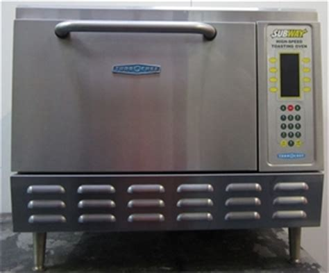 Subway Toaster Oven For Sale turbochef subway high speed toasting oven on legs dimensions wxdxh m auction 0004