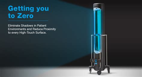 uv light in hospitals hard surface hospital uv disinfection system from surfacide