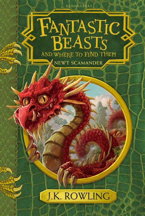 the beast of ten books j k rowling s new edition of fantastic beasts reveals