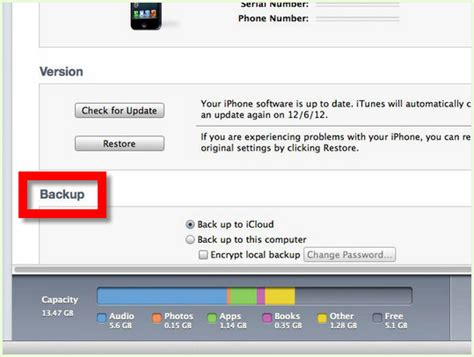 step up on itunes how to back up an iphone to itunes with pictures wikihow