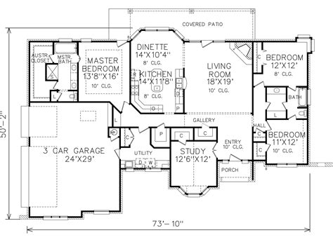 perry home plans floor plan 7089 3