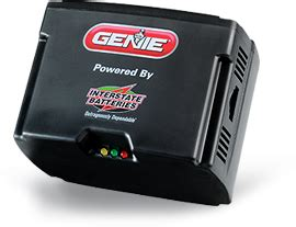 Garage Door Battery Backup The Genie Garage Door Opener Battery Backup Unit
