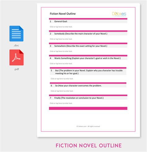 Book Outline Template 17 Sles Exles And Formats Dotxes Microsoft Word Novel Template