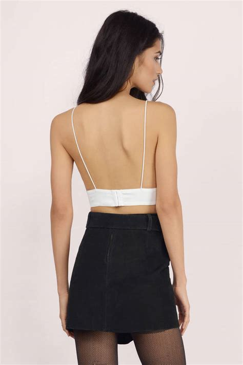 40602 Blackwhite Bite Sequin Casual Top backless crop tops www pixshark images galleries with a bite