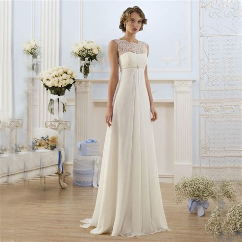 2016 country style elegant ivory lace illusion beaded beach wedding dresses simple vestidos de