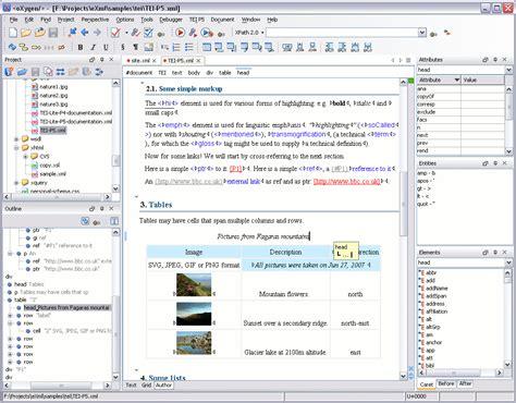 xml editor screenshot oxygen xml editor xml editor wysiwyg xml