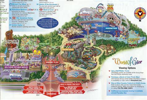 disney california adventure map disneyland and zion national park 2010 alex ingram s weblog