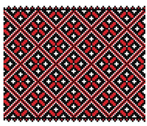 embroidery pattern for photoshop ukrainian styles embroidery pattern vectors 13 vector