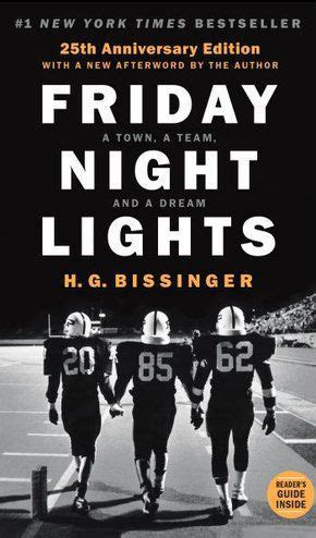 friday lights book pages review friday lights by h g bissinger 25th