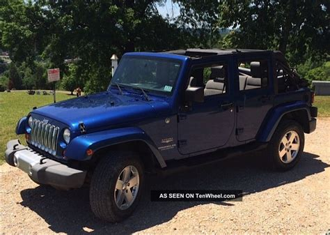 2009 jeep wrangler unlimited soft top great conditon 4 door jeep wrangler 2009 unlimited