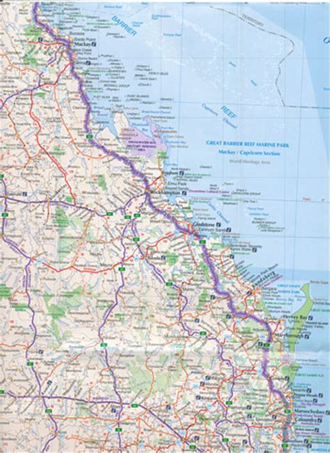 brisbane  cairns  edition  ubd gregorys maps