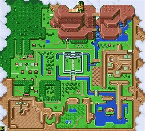 zelda forest pattern how do maps in zelda change video games amino