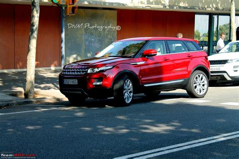 land rover india range rover evoque launched in india team bhp