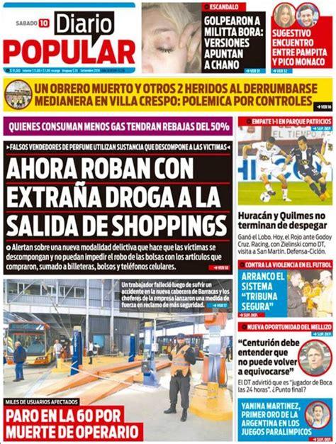 Diario Argentino Peri 243 Dico Diario Popular Argentina Peri 243 Dicos De