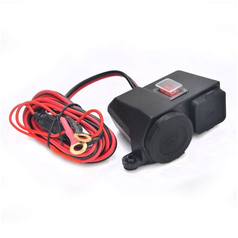 Usb Charger Motor new motorcycle motor waterproof usb charger 12v 2 1a